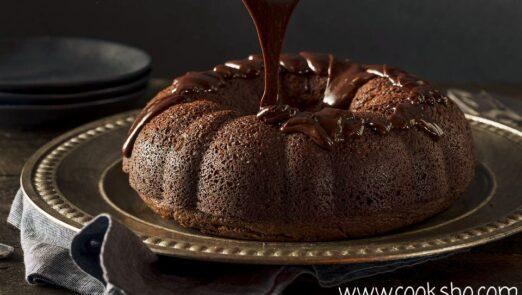 کیک خیس نوعی کیک شکلاتی