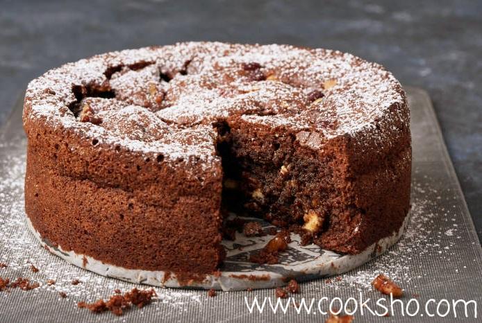 کیک براونی مناسب برای کیک رولی