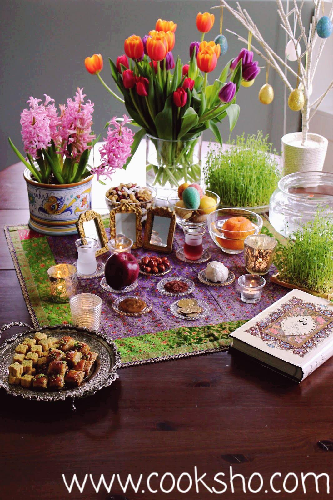 دستور تهیه انواع شیرینی عید برای سفره هفت سین