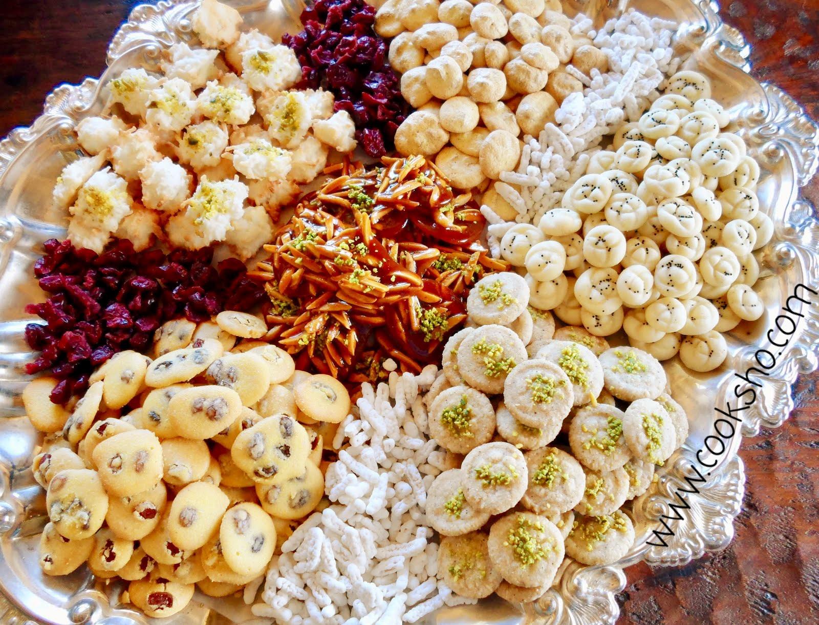 رسپی چند نوع شیرینی عید نوروز