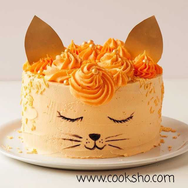 ایده تزئین کیک ساده در خانه