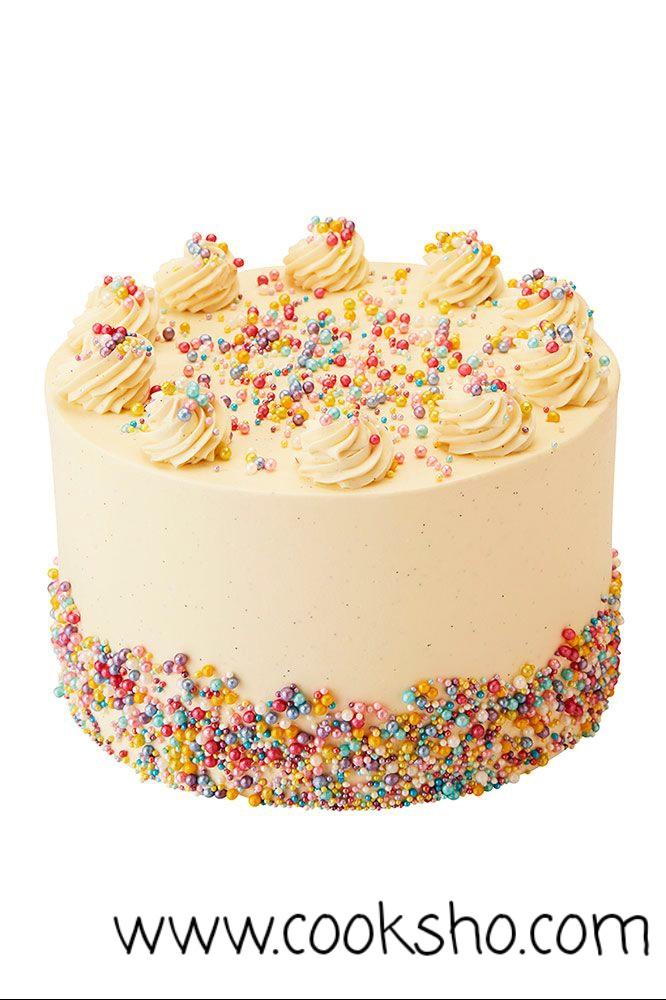 تزئین ساده کیک در منزل با ماسوره