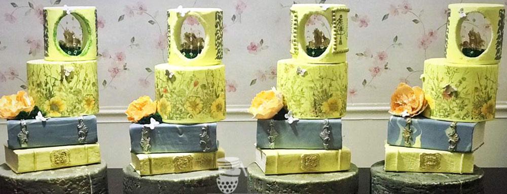 آموزش دکور پیشرفته کیک فوندانت