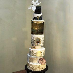 کیک فوندانت پیشرفته